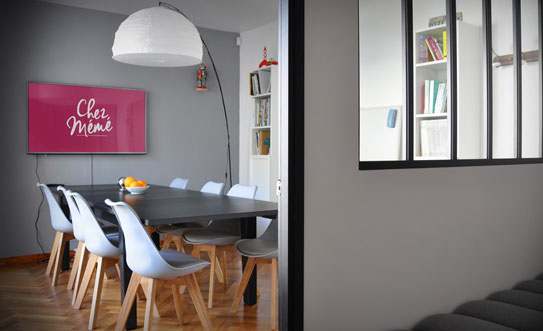 Chez Mémé : Espace de coworking - salle de réunion