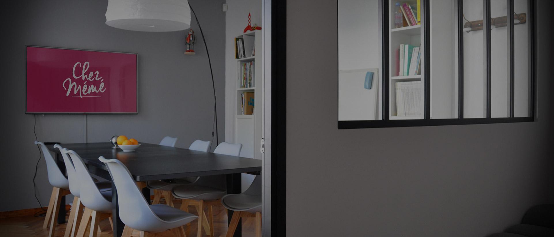 Chez Mémé : Espace Coworking en Essonne (91) - Réservation salle de réunion