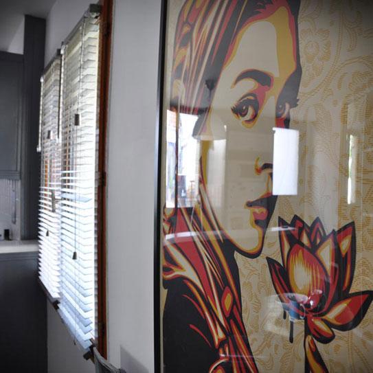 Chez Mémé : Espace de coworking - salle de réunion et espace d'accueil
