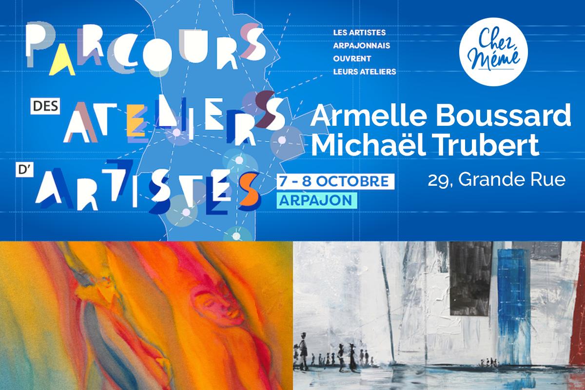 Parcours des ateliers d'artistes - 7 et 8 octobre 2017 à Arpajon