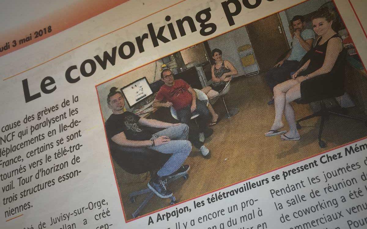 Coworking et télétravail en Essonne